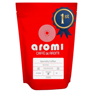 Caffe de Aromi specialty coffee award winner
